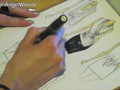 Fashion Sketching 101- How to become a fashion designer