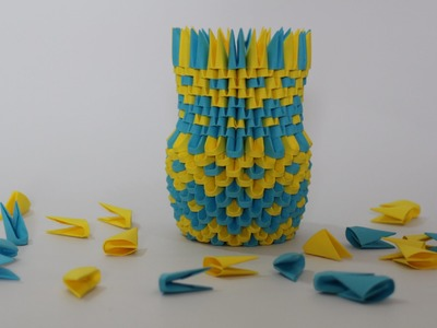 How To: 3D Origami Pen Holder
