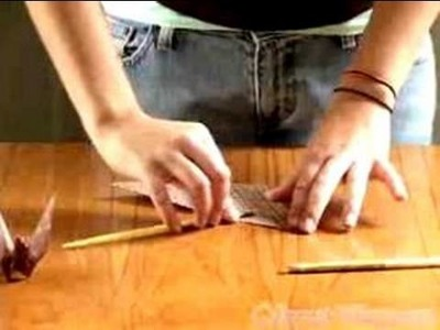 How to do Paper Origami : Origami crane