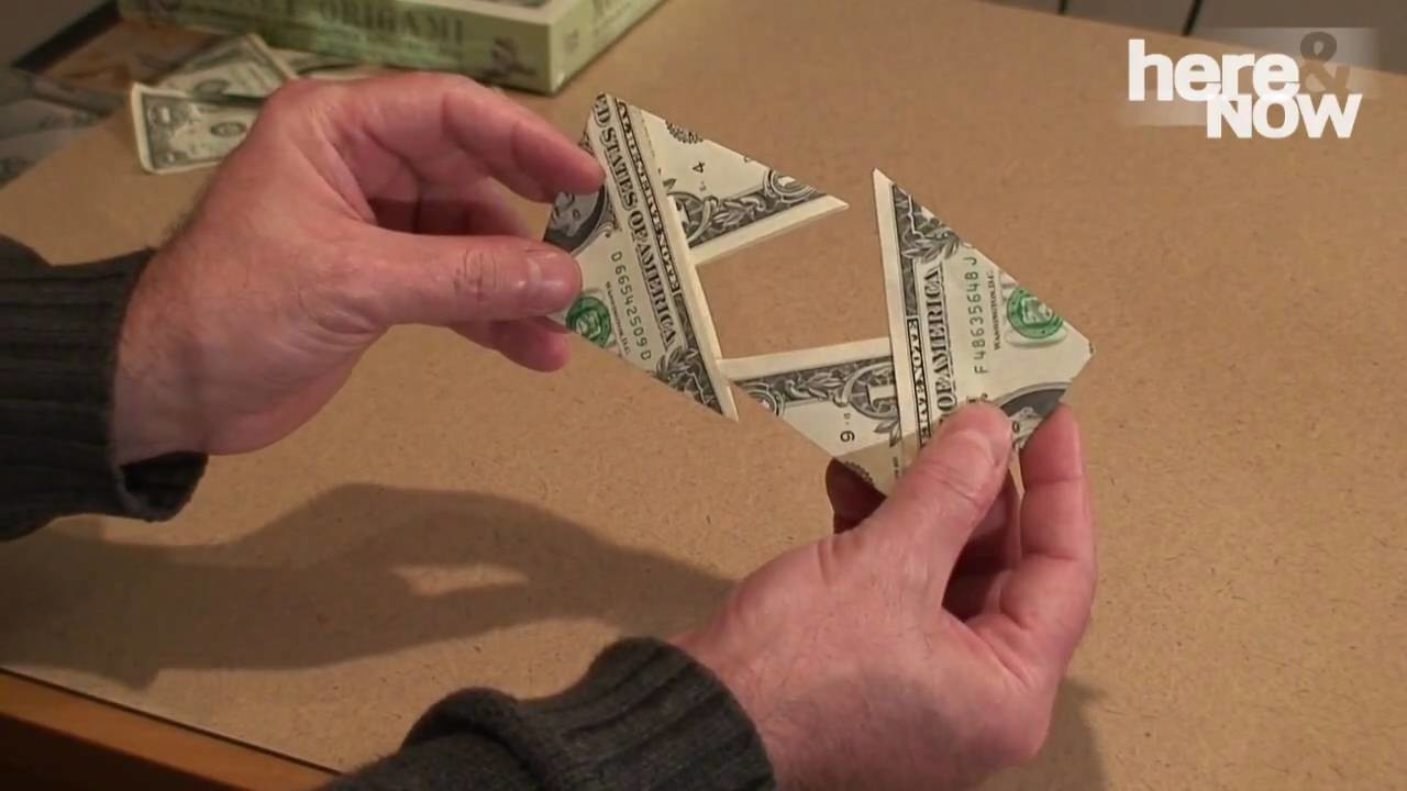 How To: Fold An 'X Wallet' Out Of Dollar Bills