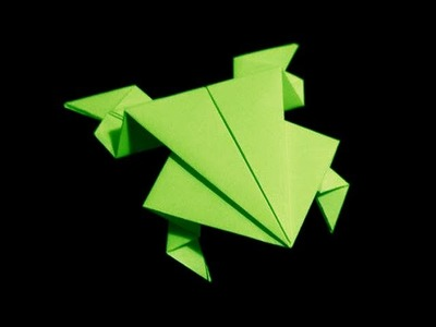 How To Fold: Origami Jumping Frog