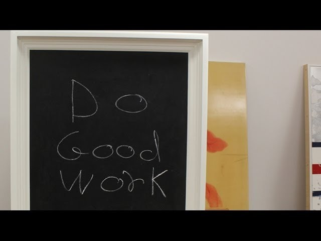 How to make a chalkboard by Jon Peters