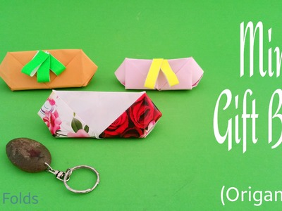 "How to make a Paper ""Mini Gift Box"