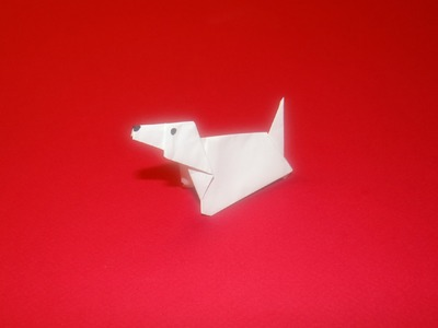 How To Make An Origami Dog 02