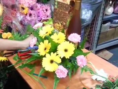 How to make Honey with Gerbera. Carnation Flowers | Singapore Florist