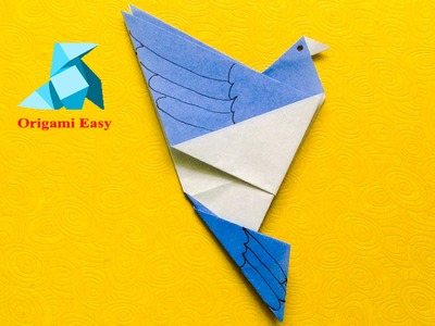 How To Make Origami Bird Easy For Beginners
