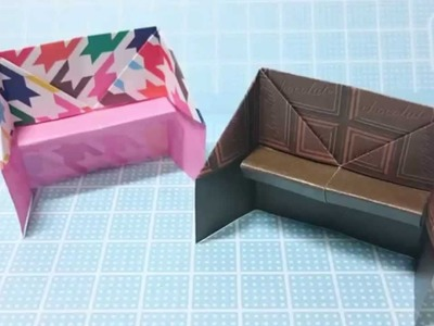 How To Make Origami Sofa