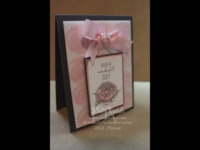 How to Soften Any Card Using Vellum with Deb Valder