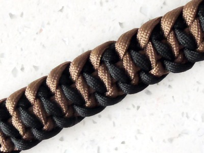 How To Tie The Tire Tread Bar Paracord Survival Bracelet