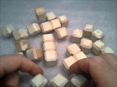 Making a set of Rubik's bricks