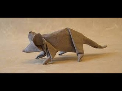 Mouse Animal Origami | Origami Paper How to Make Origami