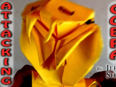 Origami Attacking Cobra