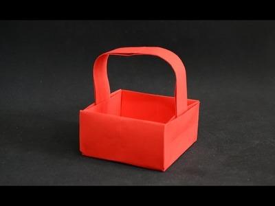 Origami: Basket