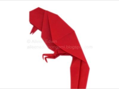 Origami Bird (Aileen Edwin) Video Tutorial *HD*