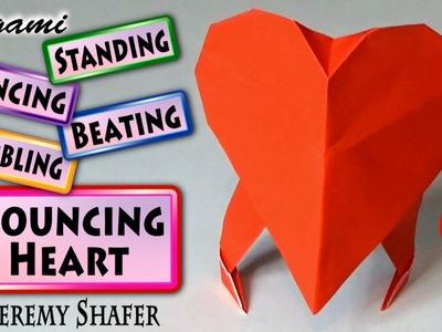 Origami Bouncing Heart (no music)