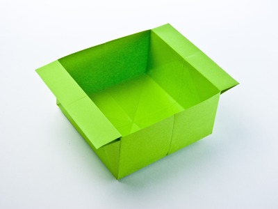 Origami box (traditional)