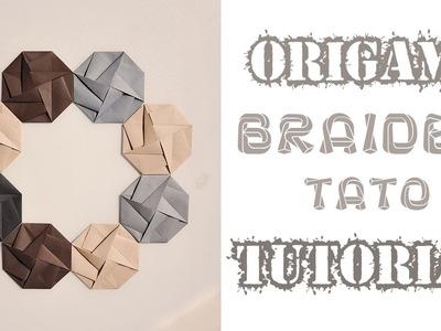 Origami 3d Origami Vase Tutorial Part1 3d Origami Vase Tutorial