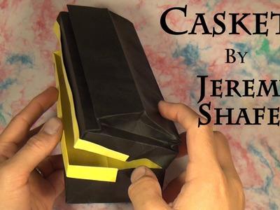 Origami Casket by Jeremy Shafer