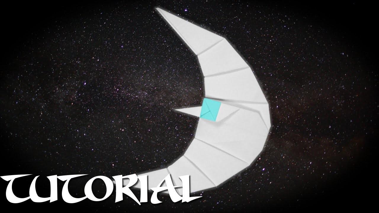 Origami Crescent Moon Tutorial