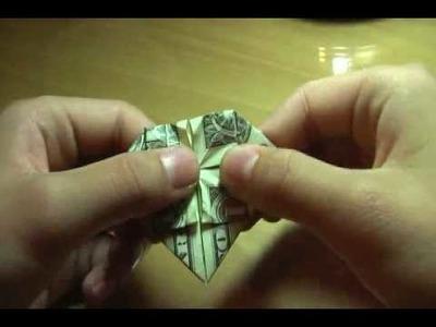 Origami - Dollar Bill Heart