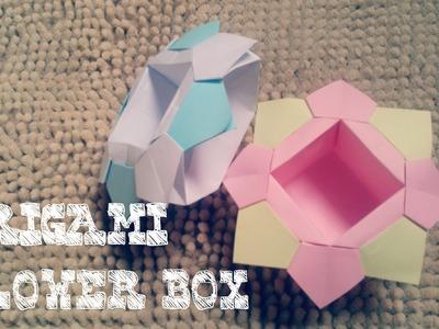 Origami Easy - Origami Flower Box