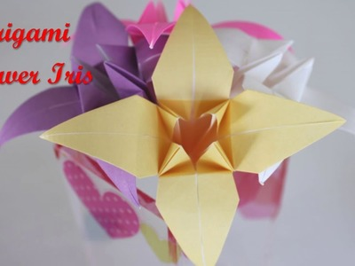 Origami How To Make An Origami Balloon Flower How To Make An