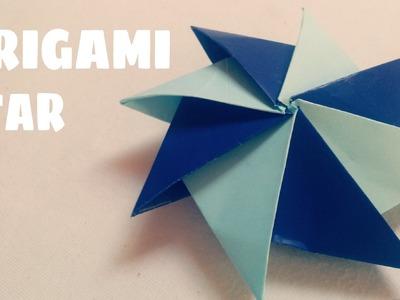 Origami for Kids - 3D Origami Star (Modular Origami)