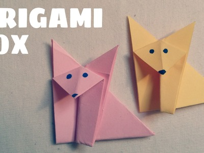 Origami for Kids - Easy Origami Fox Tutorial