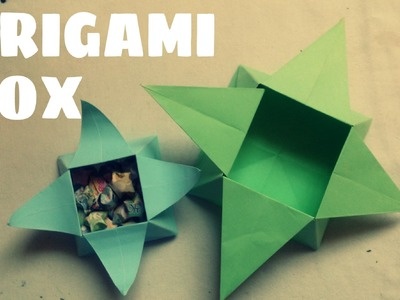 Origami for Kids - Origami Box Tutorial (Very Easy)