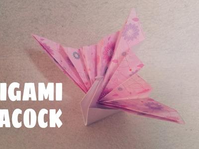 Origami for Kids - Origami Peacock - Origami Animals