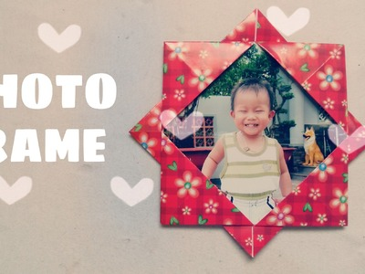 Origami for Kids - Origami Picture Frame