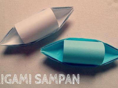 Origami for Kids - Origami Sampan Boat