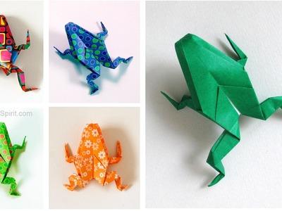 Origami Frog -Inflatable :: Rana de papel