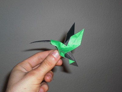 Origami Hummingbird (Christopher Randall) Tutorial