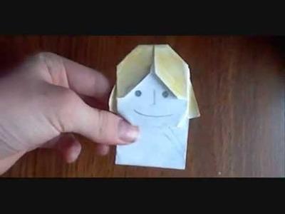 Origami Luke Skyfolder instructions