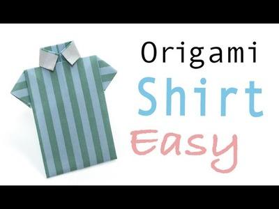 Origami Paper Shirt easy- Origami Kawaii