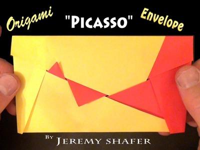 Origami Picasso Envelope