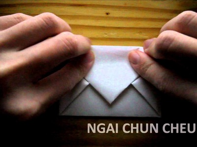 Origami Simple Envelope Letter (Tutorial)