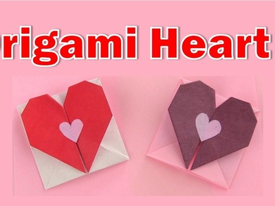 Origami - Valentine's Card ♥ Heart Envelope (Tutorial)