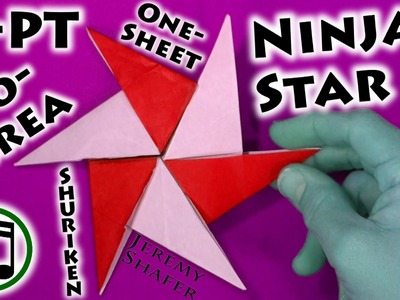 Six-Pointed Iso-Area Ninja Star