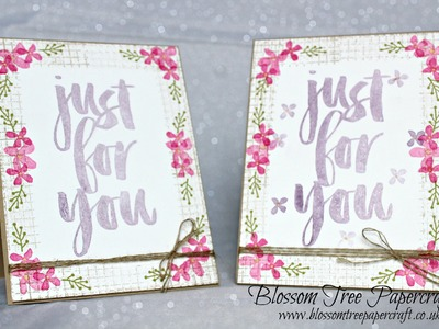 Stampin' Up! Botanical's Spring Inspired Card