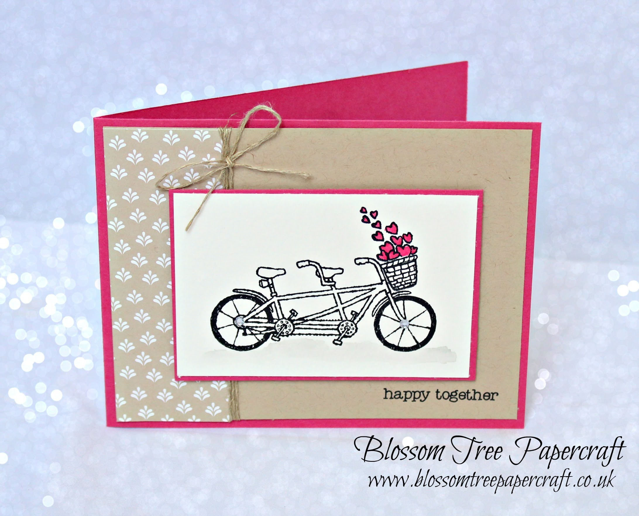 Stampin' Up! Pedal Pusher Happy Together Simple Stampin' Card