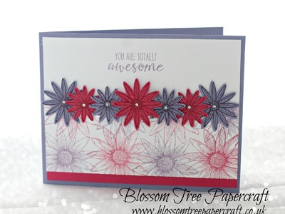 """Stampin' Up! """"You are Awesome"""" Card using Grateful Bunch and Blossom Bunch Punch Bundle"""