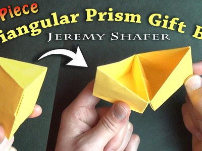 Triangular Prism Gift Box (no music)