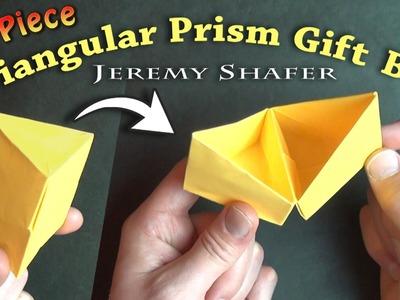 Triangular Prism Gift Box (no music)