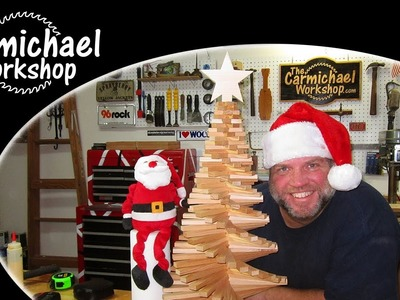 Twisted Christmas Tree - A Holiday Woodworking Project