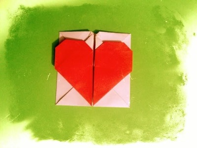 Valentine's Day ideas: Origami Heart with Secret Message