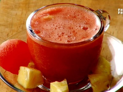 Watermelon And Pineapple Soup - Mummy Ka Magic