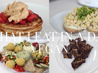 What I Eat in a Day #7 (Vegan.Plant-based) | JessBeautician