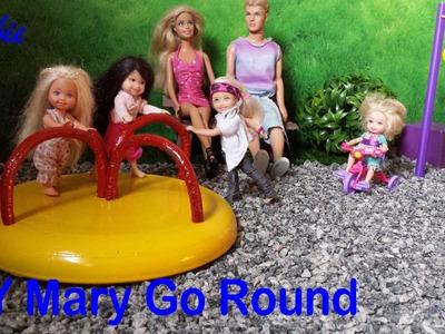Barbie - How to make a Playground Mary Go Round